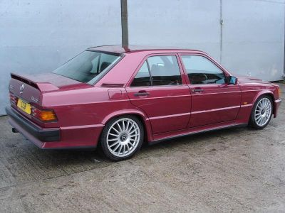 190E 2.5-16 Cosworth from 1989 (non standard wheels)