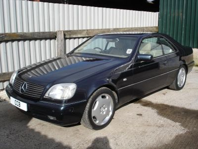 CL500 Coupe from 1998